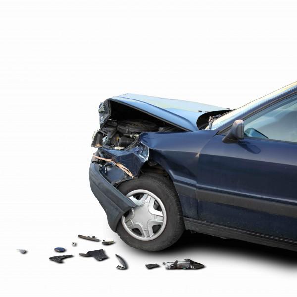 Auto beschädigt